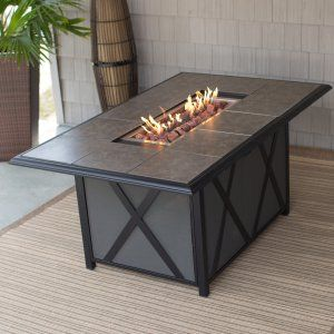 Belham Living Tulie Fire Dining Table   The Belham Living Tulie Fire Dining  Table Flaunts A. Fire Pit Patio ...