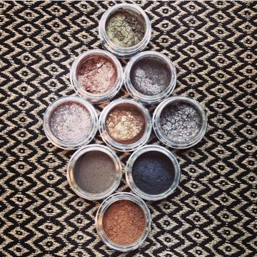 Lo Colour Makeup. Sweden. Beautiful mineral eyeshadows. Organic.