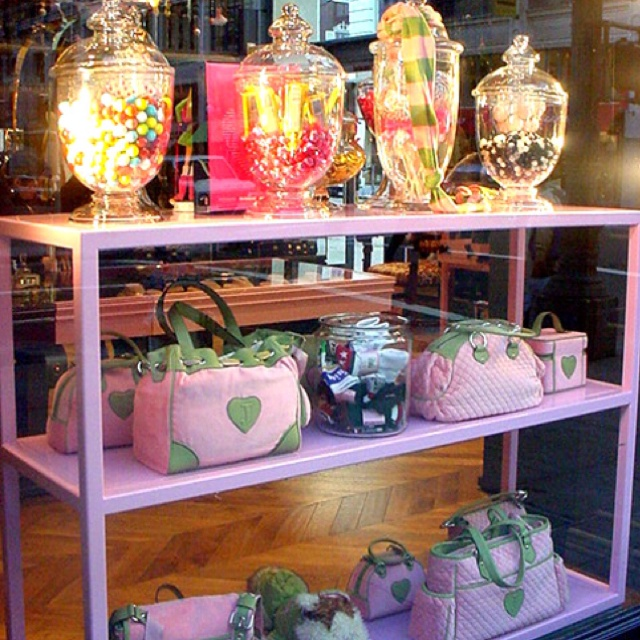 Candy Jars At Juicy Couture