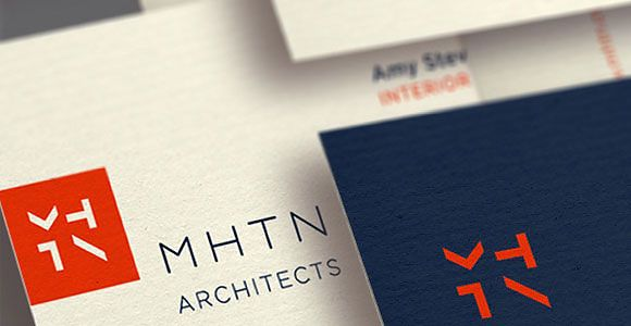 MHTN Architects Identity by modern8