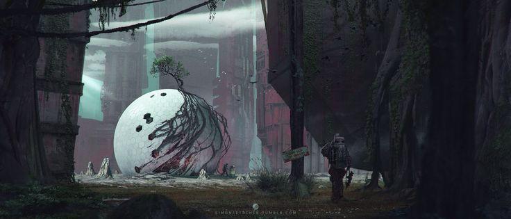 Forgotten Sphere by simonfetscher