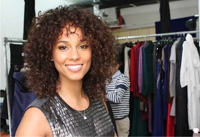 Alicia Keysshe's gorgeous, besides that she's extremely talented