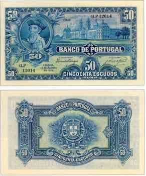 50 escudos, 1928