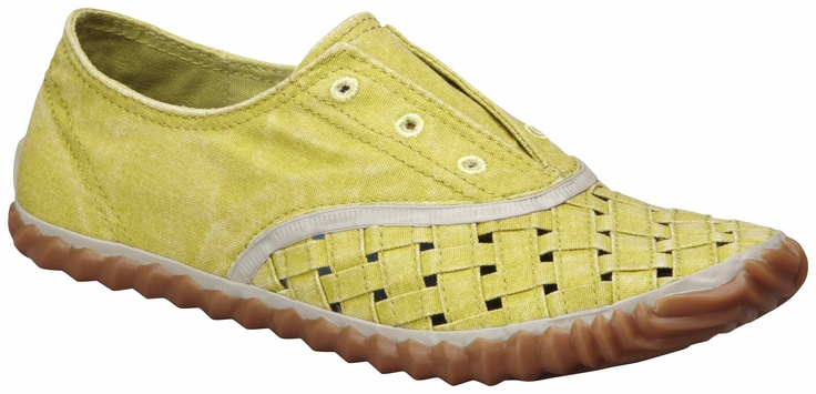 Sorel Picknick Weave Woven -tennari (69,95 €)  #Sorel #Yellow