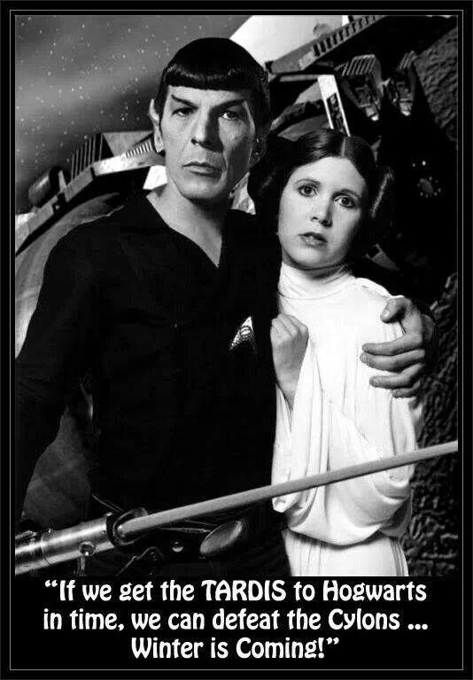 Spock and Leia