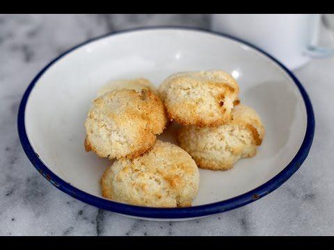 Kokosmakronen gemaakt van maar 2 ingrediënten – Culy.nl
