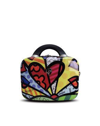 Heys Britto Heart Luggage on Wanelo