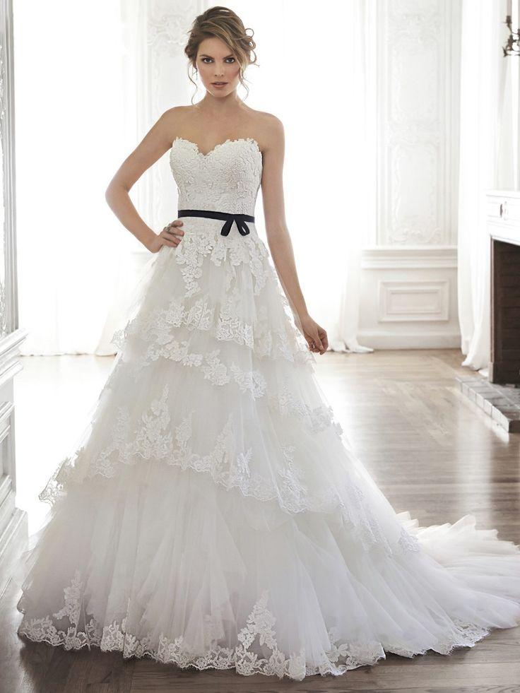 Mejores 28 imágenes de vestidos en Pinterest   Vestidos de boda ...
