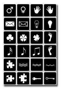 cartas para imprimir en blanco y negro