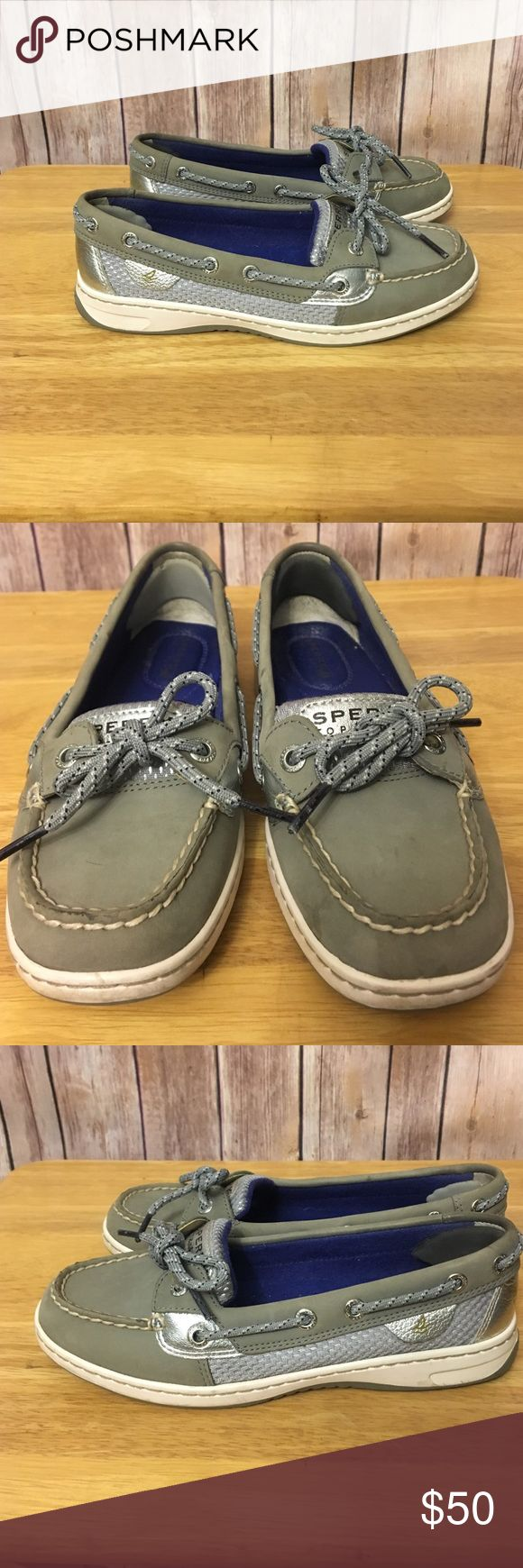 Sperry angelfish boat shoes Excellent used condition, sperry angelfish boat shoe. Size 6 Sperry Shoes Flats & Loafers