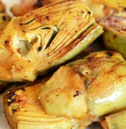 Sauteed Baby Artichokes with Lemon and Garlic   Simple Dish   Quick ...