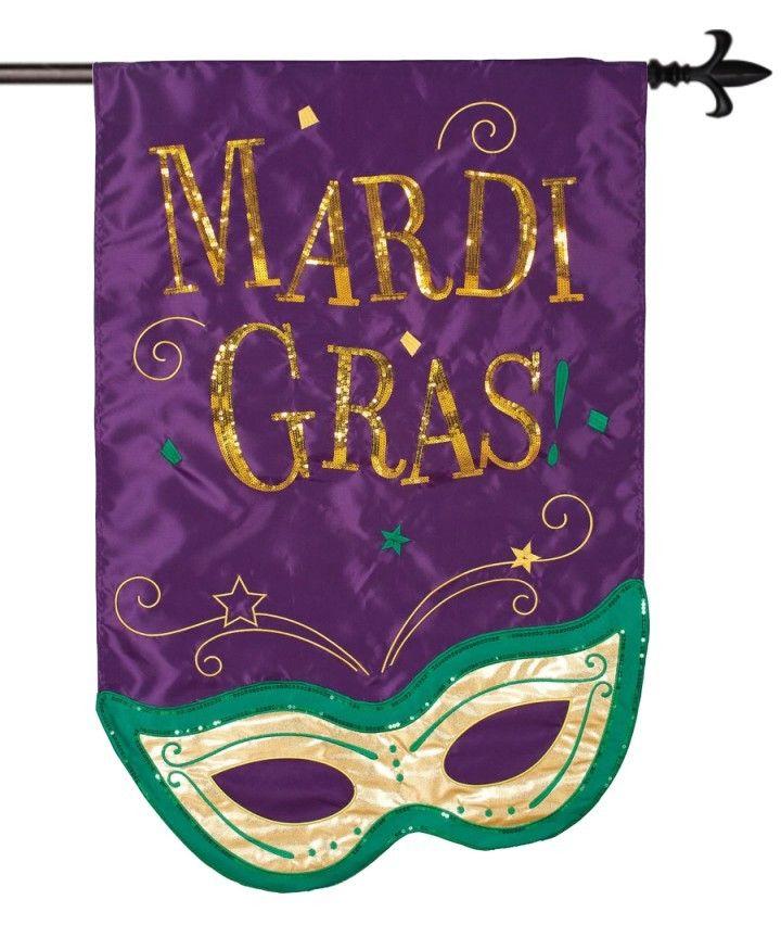 IAmEricas Flags - Mardi Gras Mask Sequined Applique House Flag $28.00 (/  sc 1 st  Pinterest & 105 best Mardi Gras images on Pinterest | Louisiana Mardi gras ...