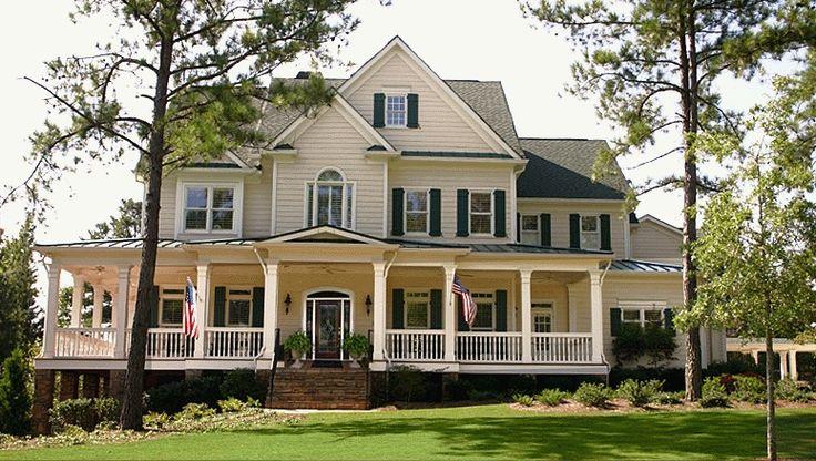 Fabulous Custom Dream Homes Design: Fabulous One Loft Floor Classic American Style Custom Dream Homes Design In Clasic Design Finished With ...