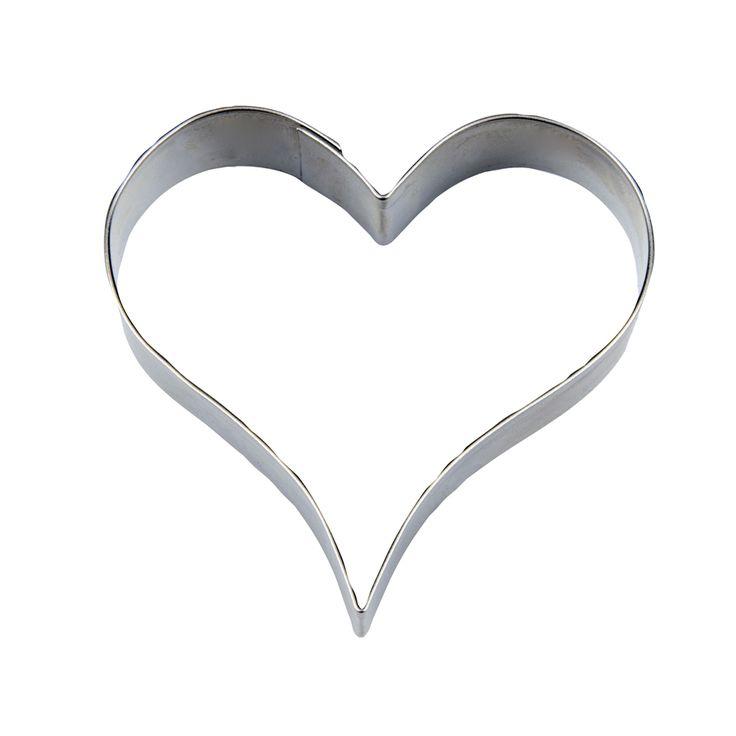 Koekjes uitsteker hart