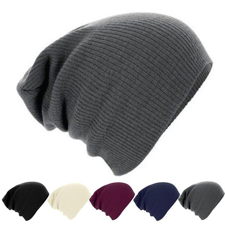 Unisex Men Women Ski Skull Warm Wool Knit Beanie Fashion Winter Hat Cap Gifts Us