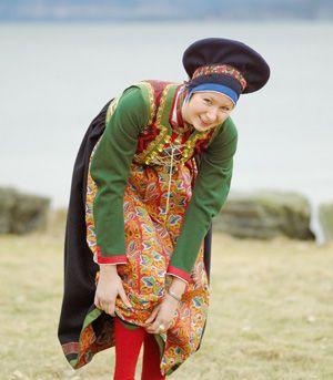 Kvinnebunad fra Fusa