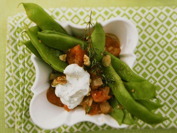 Grüne Bohneneintopf mit Creme frâiche ist ein Rezept mit frischen Zutaten aus der Kategorie Eintöpfe. Probieren Sie dieses und weitere Rezepte von EAT SMARTER!