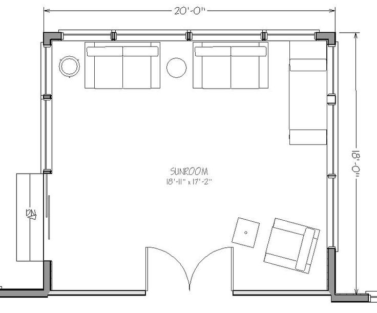 Sun room addition plans sunroom addition and take for Room addition blueprints