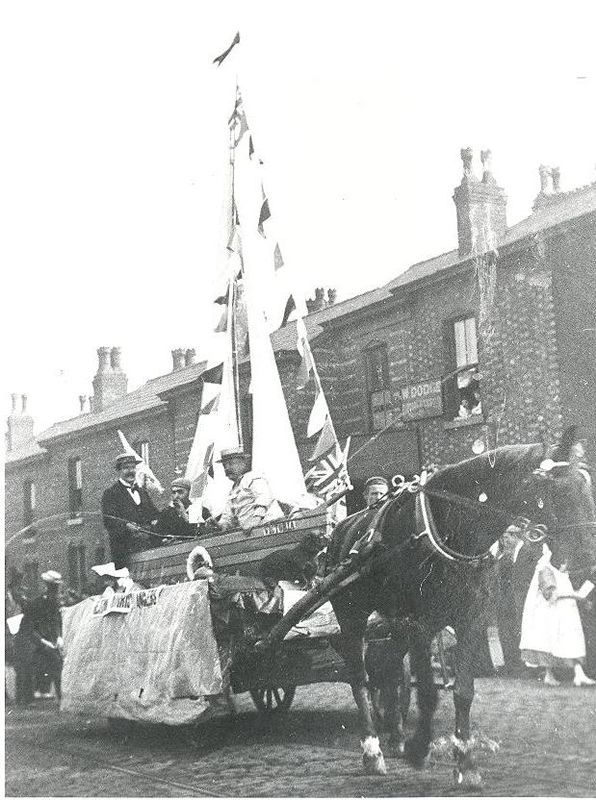 War Fund Procession for the Boer War (1899-1902)