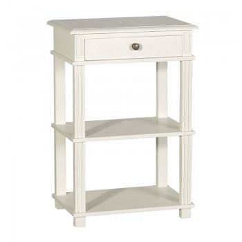Fayence Tall Bedside Table