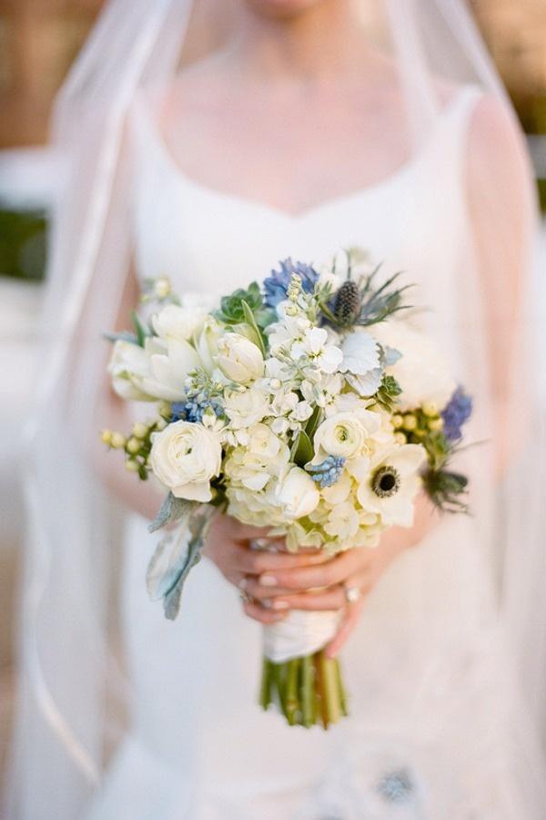 Blue & White Bouquet
