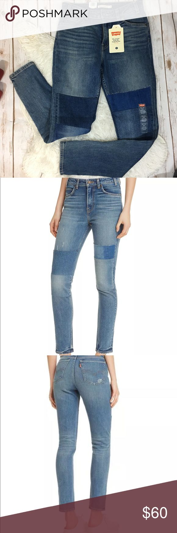 """Levi's Vintage high rise skinny 721 28x30 Materials: 99% Cotton, 1% Elastane, Stretch denim  High rise: 12"""" front rise  Slim through hip and thigh  28 inchesx 30 inches -I accept reasonable offers through offer button  -ask questions if any.  Wear & Care: Machine wash cold.  Country of Origin: Pakistan  Color: Courage Blue Levi's Jeans Skinny"""