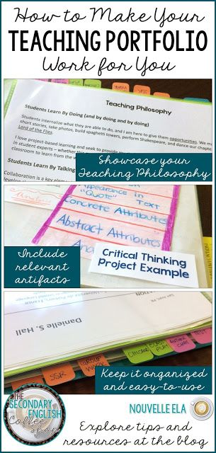 53 best Teacher Portfolios images on Pinterest Teacher portfolio - resumes by tammy