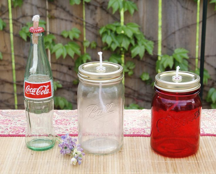 How to Make 12 Different Oil Lanterns using Bottles and Jars | Put it in a Jar