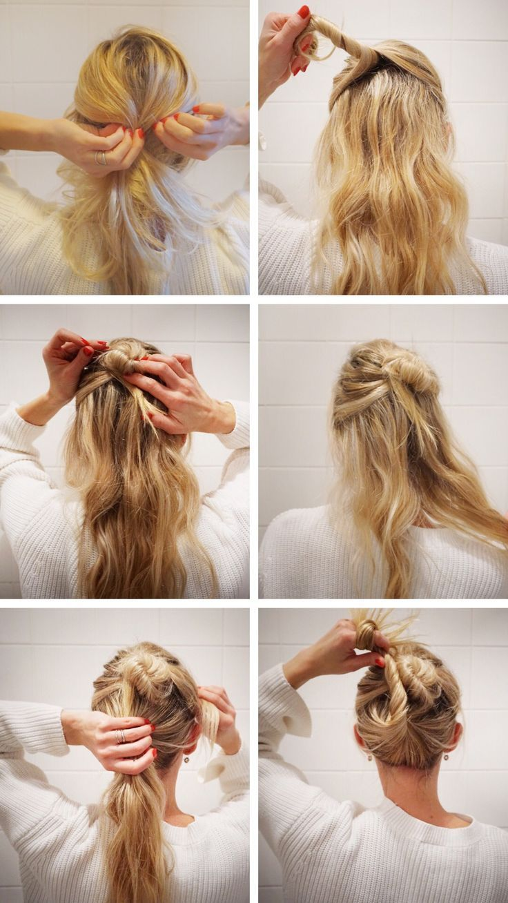 17 Belles Coiffures Simples Desordonnees Twists Francais French Twist Hair Easy Hairstyles Messy Short Hair