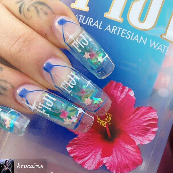 Best 25+ Water nails ideas on Pinterest | Wave nails, DIY ...