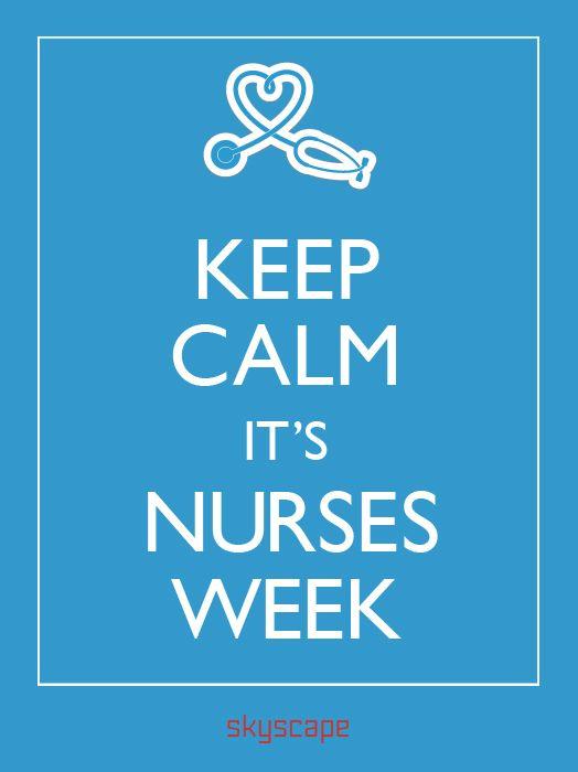 Skyscape Celebrates Nurses - National Nurses Week!