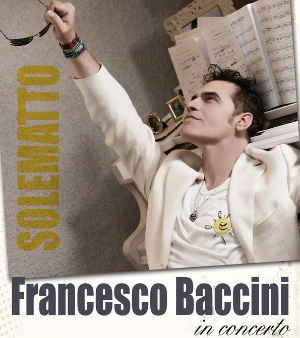 Giovedì 17 Luglio festeggiamo le nozze d'argento con la canzone di un artista che a ragione è considerato tra i pochi veri eredi della lezione del grande cantautorato italiano: Francesco Baccini.