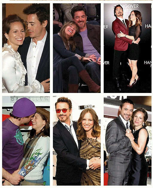 Robert & his wife, Susan ...aww sweet! I want that someday (with Tom Hiddleston).