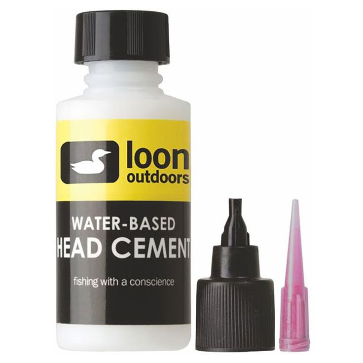 Loon Outdoors WATER-BASED HEAD CEMENT SYSTEM - THIN FORMULA Fly Tying NEW! #flytying #flyfishing #loonoutdoors