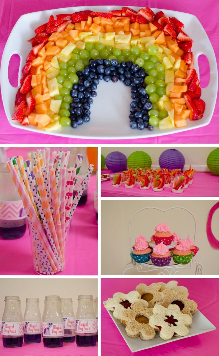 My LIttle Pony Party I can still pin ideas 2 days before the party, right