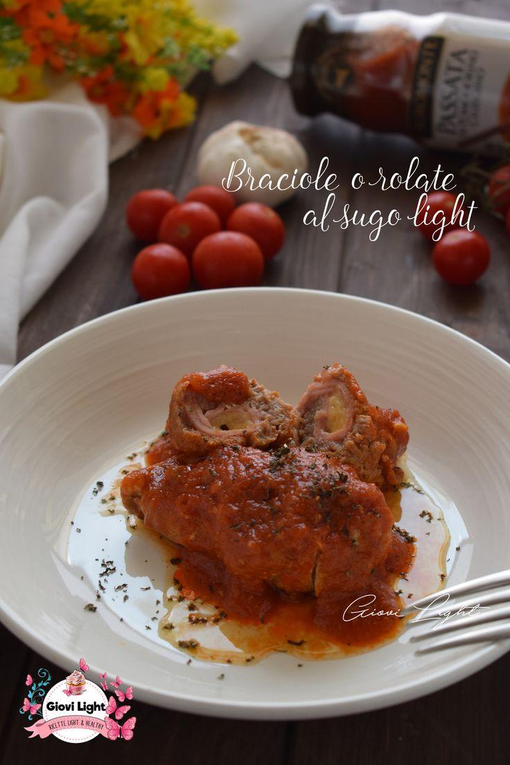 Questo è un classico piatto domenicale ma in versione LIGHT! BRACIOLE O ROLATE AL SUGO LIGHT! :P Semplici e sfiziose, ne vanno matti grandi e piccini!  http://blog.giallozafferano.it/ricettesuperlightdigiovi/braciole-o-rolate-al-sugo-light/