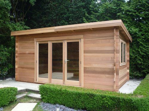 Best Garden Office Images On Pinterest Garden Office Garden
