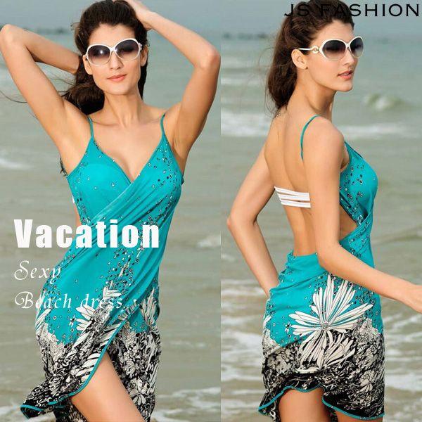 パレオ大判・巻いて着るビーチワンピース・巻きスカート・水着やビキニと合わせて着るビーチウェア・花柄・背中見せでセクシー・F・グリーン・ボヘミアン風・夏ワンピース・紫外線対策・体型カバー・海・リゾート・旅行【170309】#JSファッション #春夏 #新作 #ビーチワンピース #水着と合わせて #ビキニの上から着られる #夏ワンピース #リゾートワンピース #フリーサイズ #ゆったり #ノースリーブ #グリーン #パレオ #大判 #巻きスカート #羽織もの #大人可愛い #シンプルカジュアル #かわいい #大人セクシー #紫外線対策 #体型カバー #ビーチ #海 #海デート #夏 #南国旅行 #バケーション #リゾート #海外 #通販