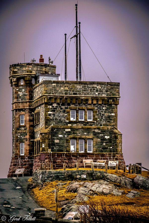 Cabot Tower located on Signal Hill, St. John's Newfoundland. By Gord Follett..this year's visit June 2015