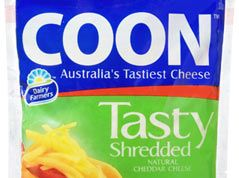 This is a famous Australian cheese brand named Coon. 'Coon' is an insulting term for Aboriginal people and is believed to come from the 1850s Portuguese term 'barracoons' which describes a place of temporary confinement.