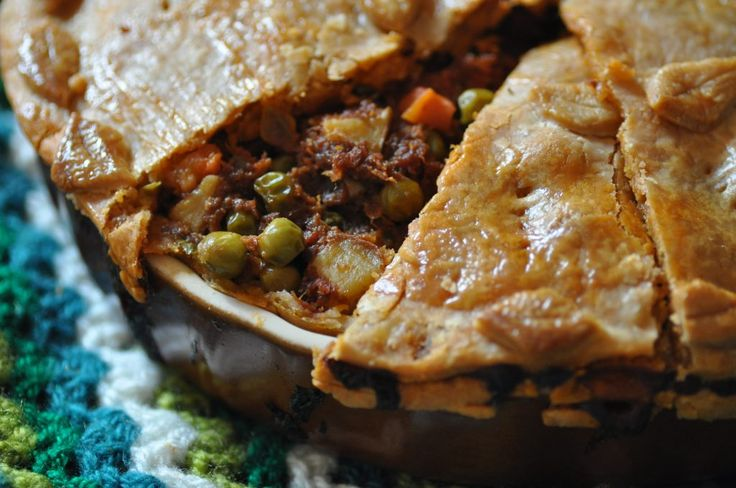 Maltese corned beef pie - Torta tal-bulibif - A Maltese Mouthful