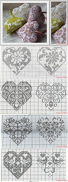 Four small heart - Biskornyu and other & quot; Krivul'ko & quot;  - Country Mom