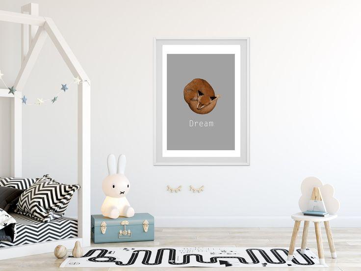 Dream Fox printable