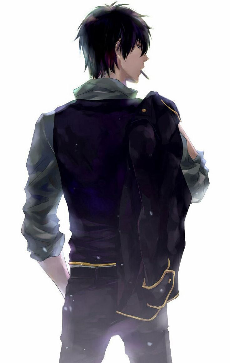 He turned to leave coat thrown carelessly over his
