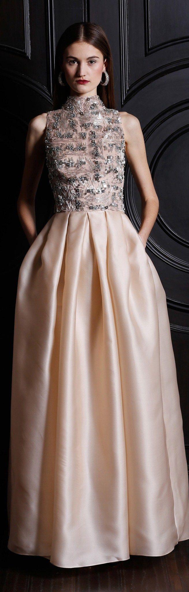 Pink Gown - Naeem Khan ● PRE-FALL 2013