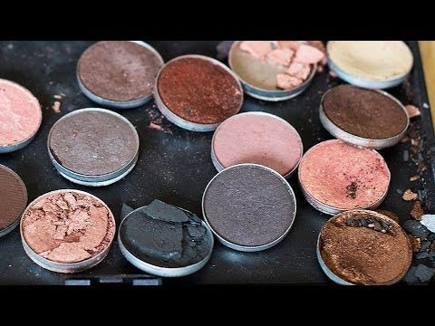 FIX BROKEN EYESHADOWS!!! Easy How-to Tutorial-Ethanol alcohol is grain alcohol the kind bootleggers mix with juice;],