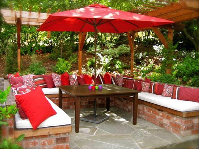 Inspirierende Ideen Fur Den Bodenbelag Im Garten Terassenentwurf Terassenideen Kleine Terrasse Design