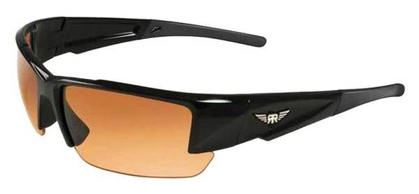Maxx HD Rough Rider #10 Black Frame Sunglasses, ALL SPORT MXRR10HD