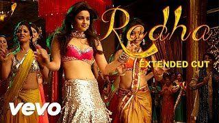 Radha - SOTY | Alia Bhatt | Sidharth Malhotra | Varun Dhawan - YouTube