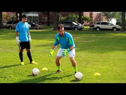 ▶ Goalkeeper Footwork and Catching Drills - YouTube